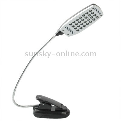 clip usb 28 led plegable variedad flexible doblado luz
