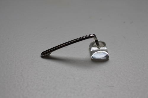 clipe para caneta montblanc prata esfero/tinteiro/roller
