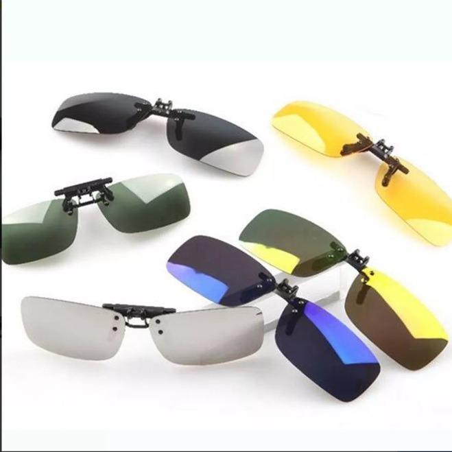 18f9f98356f3e Clipon Clip On Para Oculos Sobrepor Lente Polarizada Uv400 - R  95 ...