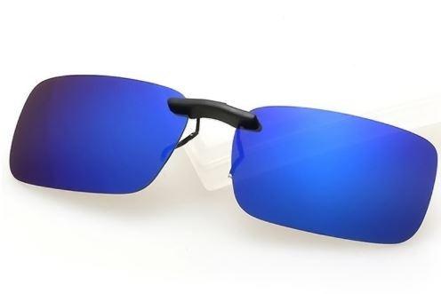 1a794e06d237d Clipon Clip On Para Oculos Sobrepor Lente Polarizada Uv400 - R  24 ...