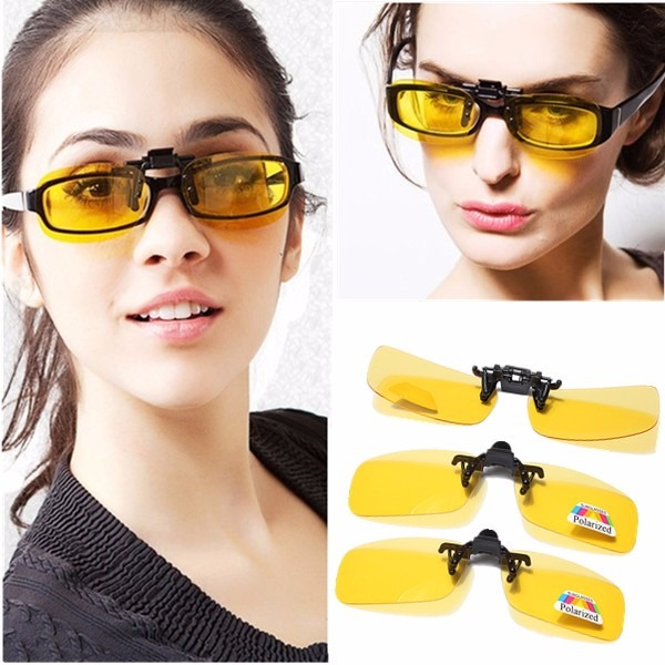 618188c352cf8 Clipon Para Óculos De Grau Proteção Uv400 Polarizado Clip On - R  34 ...