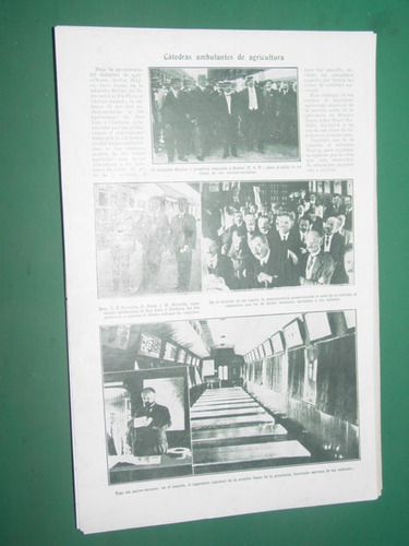 clipping 1 pg. ferrocarriles vagon catedra agricultura