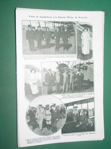 clipping 1pg visita legisladores escuela militar de aviacion