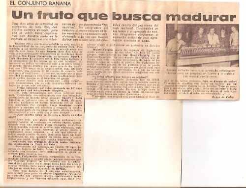 clipping banana- recortes (054) rock nacional-babu cerviño