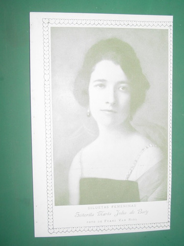 clipping damas de sociedad maria julia de bary foto van riel