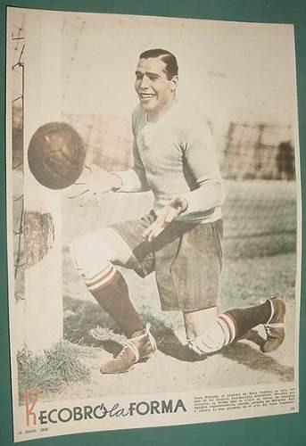 clipping futbol 1 pg lamina juan estrada boca juniors 1939