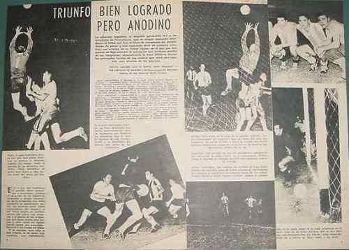 clipping futbol 1959 sudamericano guayaquil argentina brasil
