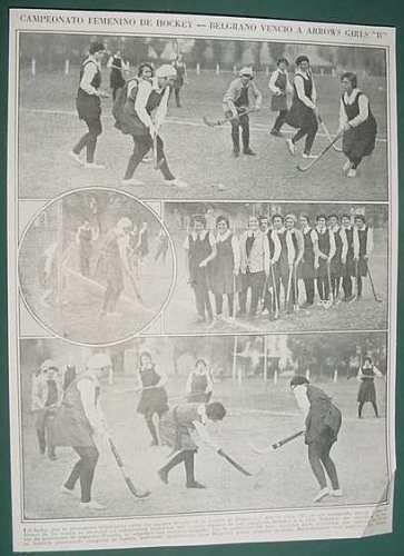 clipping hockey campeonato arrow girls belgrano