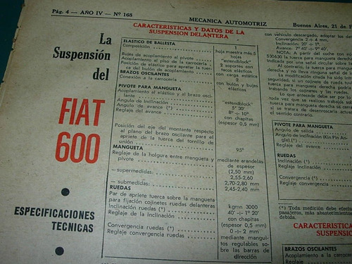 clipping mecanica automovil 1pg suspension fiat 600