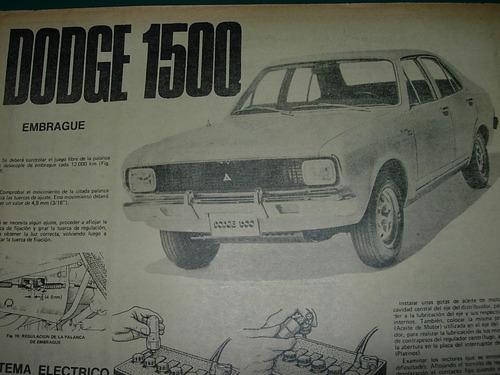 clipping mecanica automoviles 1p embrague s. elec dodge 1500