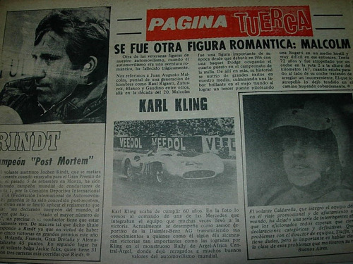 clipping mecanica autos 1 pg muere juan augusto malcolm