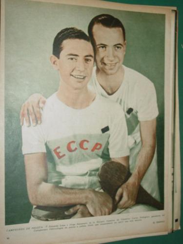 clipping pelota paleta eduardo lana jorge balzaretti 1941