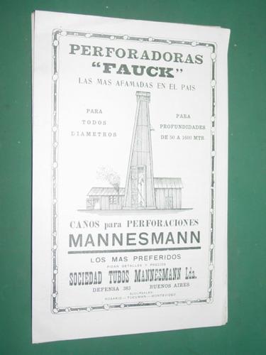 clipping perforadoras fauck sociedad tubos mannesman mod2