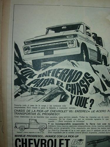clipping publicidad auto automoviles camioneta chevrolet mo2