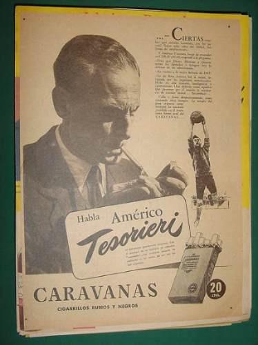 clipping publicidad boca juniors americo tesorieri caravanas