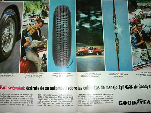 clipping recorte publicidad doble neumaticos good year
