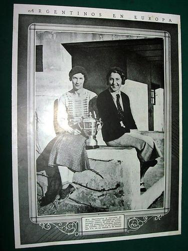 clipping señoritas shervington y lucrecia oliveira cezar
