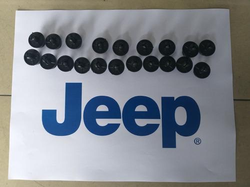 clips ganchos guardalolvo jeep grand cherokee 2011 2012