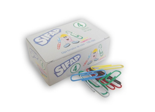 clips isofit mit o sifap forrados 33 mm nº4