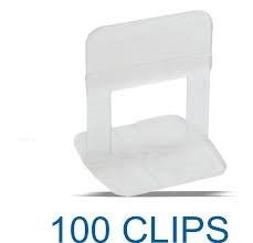 clips nivelador para porcelanato y ceramicas 1mm