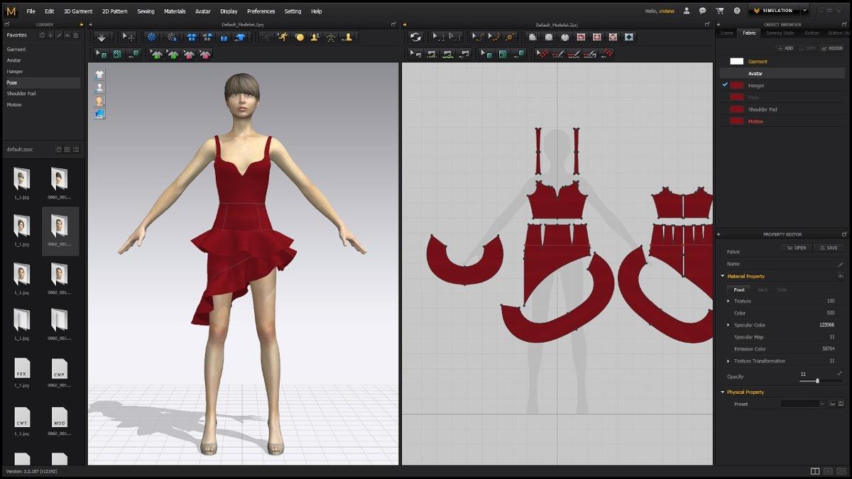 ac2b3814e57 clo enterprise-software design de moda p simulação vestuario. Carregando  zoom.
