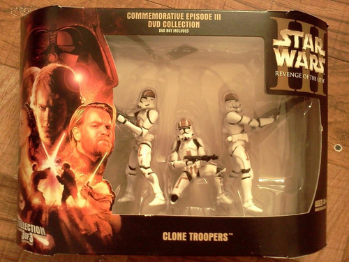 clon trooper conmemorativo y battle pack con envio trabucle