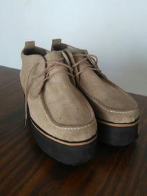 38 Plataforma Clona Mocasines Cordón Gamuza Zapatos Botas 0XPZwNnO8k