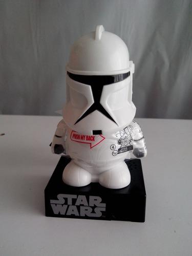 clone trooper dispensador de mini dulces con sonido