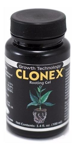 clonex gel enraizador 100 ml - (esquejes hidroponia indoor)