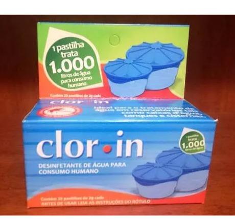 clor-in 1000l purificador de agua caixa de dágua 1000 litros