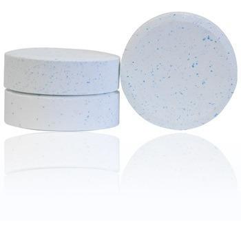 clorador flutuador tratamento piscinas pastilha cloro teste