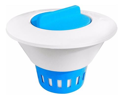clorador flutuante kit tratamento piscina inflável e cloro
