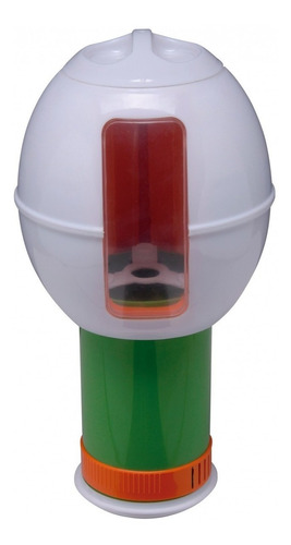 clorador maximum flutuador quimico dosador floater margarida