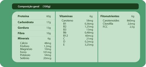clorela em pó 100%  ** premium **   1kg + nf