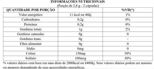 clorella 1000mg 60 cápsulas - upnutri