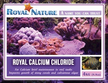 cloreto de cálcio balling royal nature 4kg