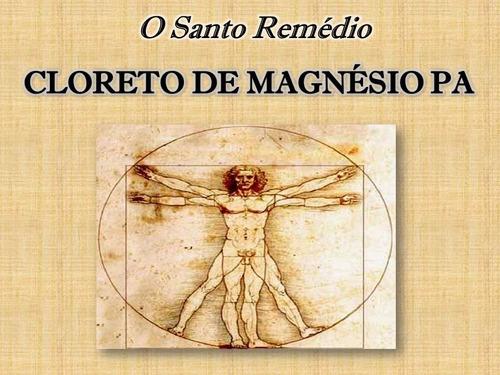cloreto de magnésio pa indicado dr.lair ribeiro  1 kg