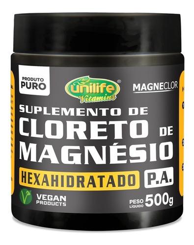 cloreto de magnésio unilife - hexahidratado p.a  500g