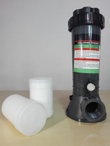 clorinador, dosificador de cloro