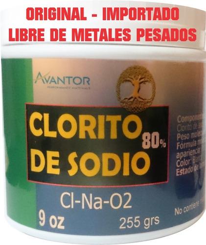 clorito de sodio al 80% extra puro  mejor calidad mms