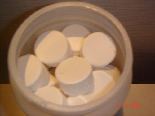 Cloro en pastillas para limpieza de tu ba o piscina for Cuanto cuestan las albercas en walmart