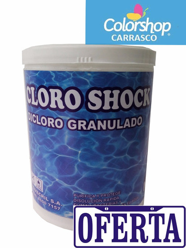 cloro granulado disolucion rapida para piscinas 4 kg