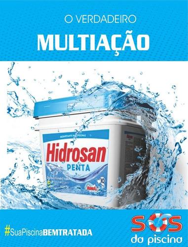 cloro granulado - hidrosan penta - 5 em 1 -  10 kg