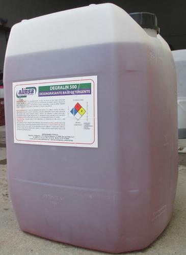 cloro industrial al 6% carboyas de 20lts.