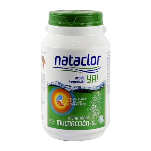 cloro instantáneo multiacción de 5 kilos nataclor rinde +