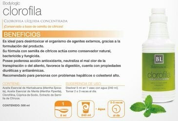 clorofila - bodylogic