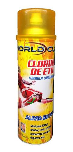 cloruro de etilo spray 500 ml.