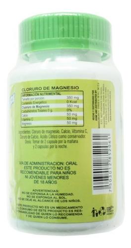 cloruro de magnesio 100 cápsulas (5 piezas) maxicloruro