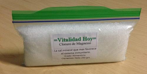 cloruro de magnesio 250 gr.