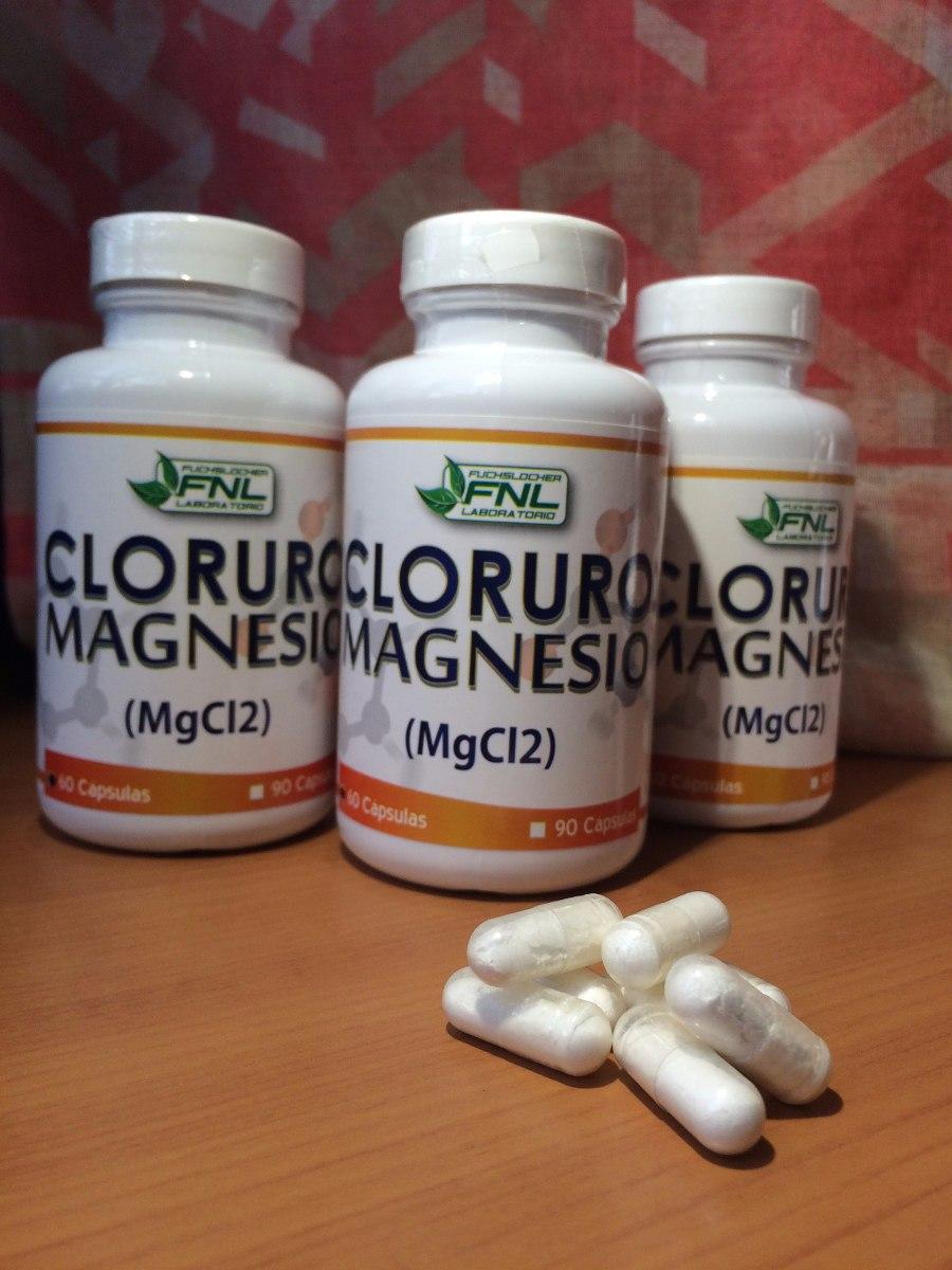 Cloruro de magnesio en capsulas para adelgazar